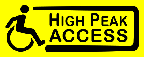 High Peak Access Logo